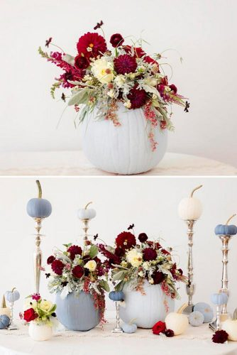 Centerpiece and Tabletop Decoration Ideas with Pumpkins picture 2