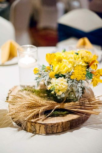 Stylish Fall Wedding Centerpieces picture 3