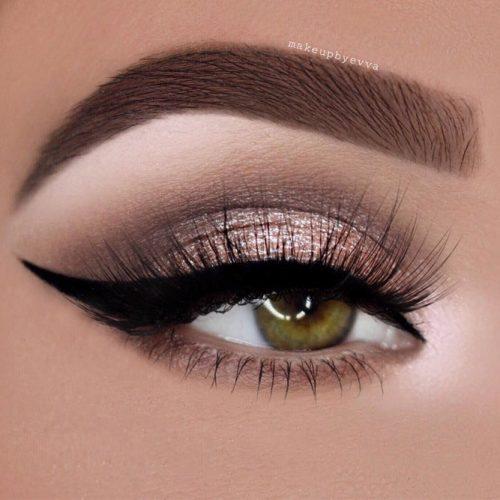 Grey and Rose Smokey Eyes Makeup