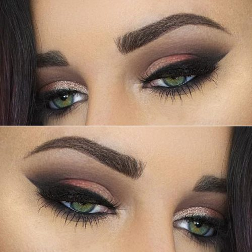 Dramatic Evening Eyes