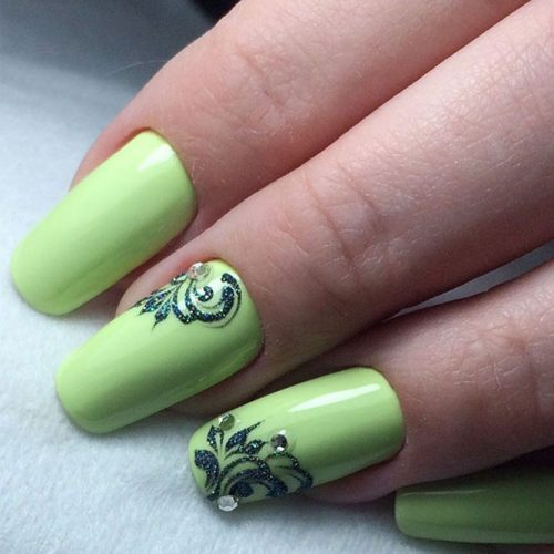Soft Green Nail Shades picture 3