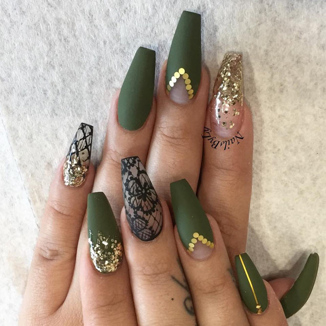 Cute Green Nail Designs picture 6