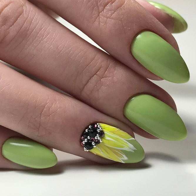 Soft Green Nail Shades picture 1