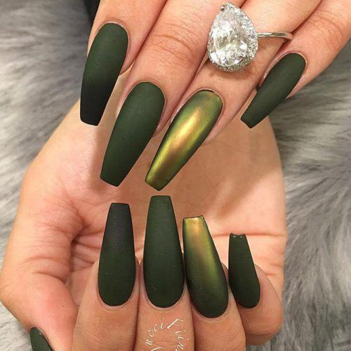 36 Fresh Green Nails Ideas To Get This Season