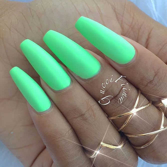 Soft Green Nail Shades picture 5