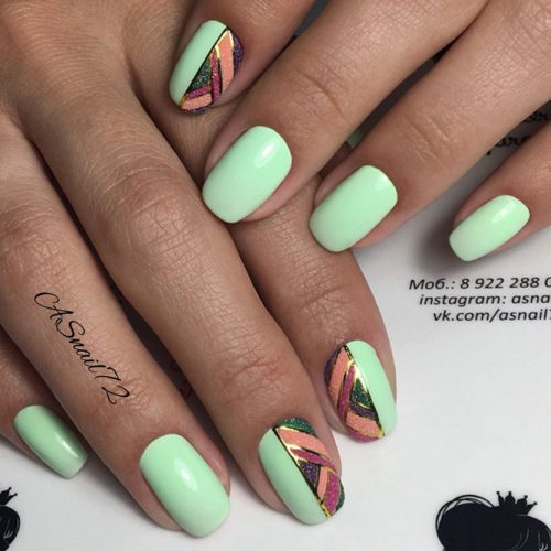 Soft Green Nail Shades picture 2
