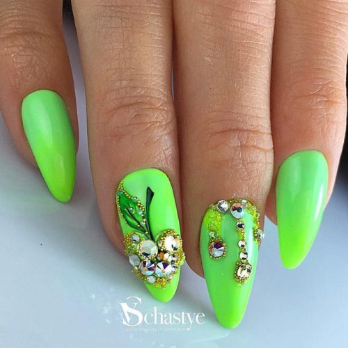 Cute Green Nail Designs picture 3