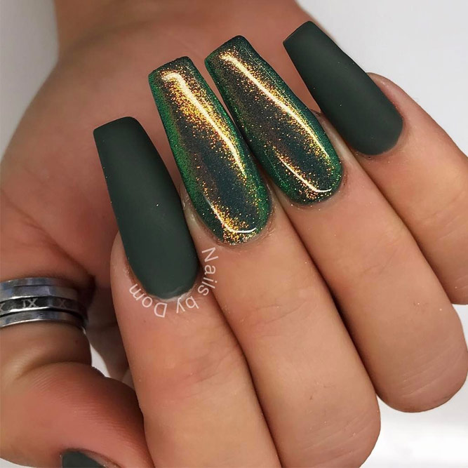 Cute Green Nail Designs picture 5