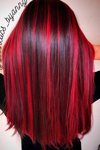 Stylish Red Highlights