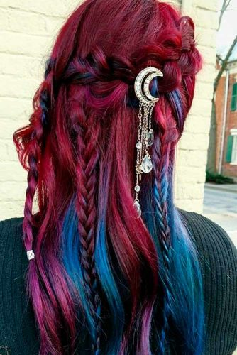 Bright Colored Ombre