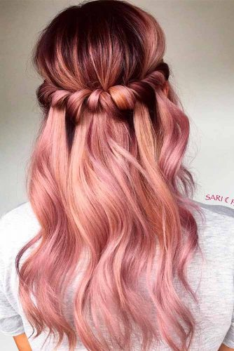 Sweet Rose Gold Ombre