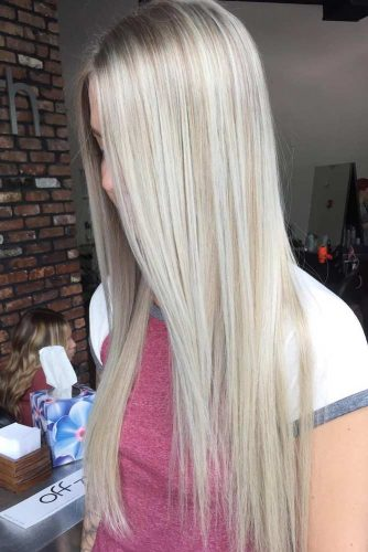 Subtle Layers for Long Hair
