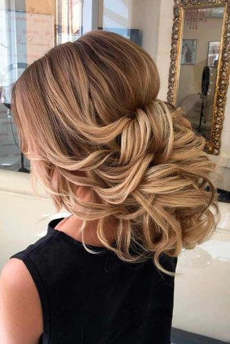 Chic and Stylish Hairstyle for Maid of Honor picture 6