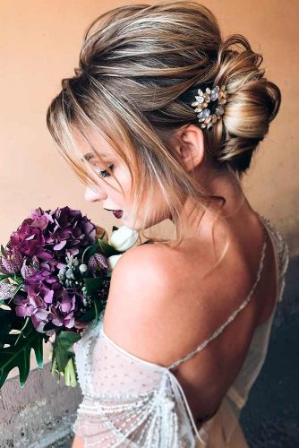 Chic and Stylish Hairstyle for Maid of Honor picture 3