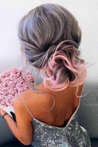 Chic and Stylish Hairstyle for Maid of Honor picture 1