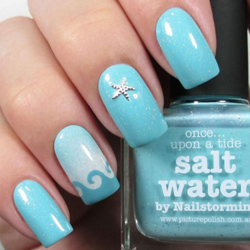 Fun Swimming Pool Nail Designs picture 1