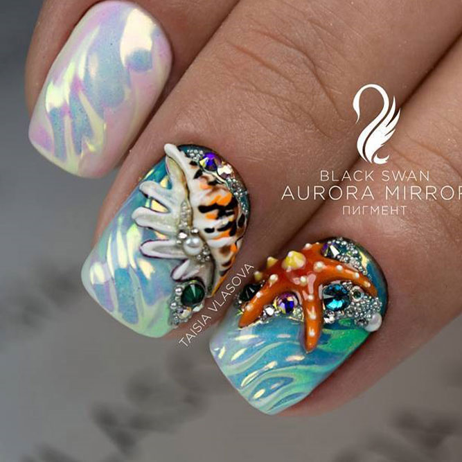 Cool Summer Nail Designs to Rock Pool Party picture 2