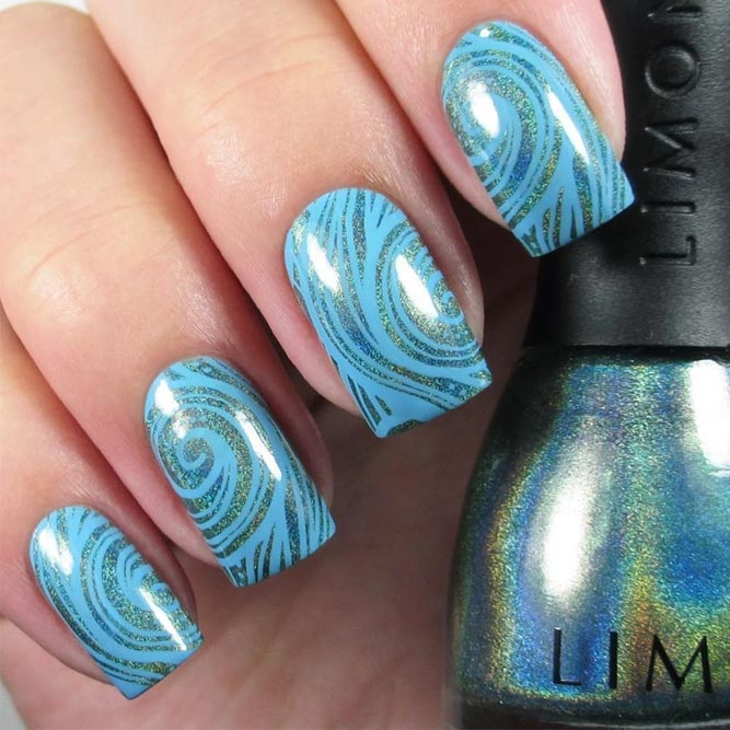 Fun Swimming Pool Nail Designs picture 2