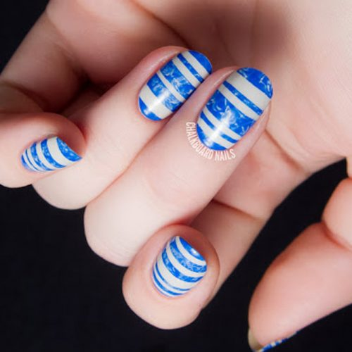 Cute Aqua Nails Designs picture 3