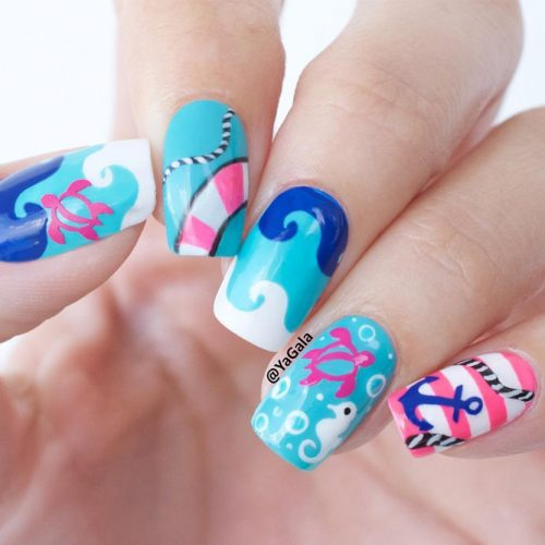 Fun Swimming Pool Nail Designs picture 4