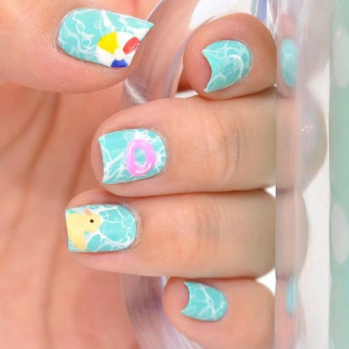 Cool Summer Nail Designs to Rock Pool Party picture 4
