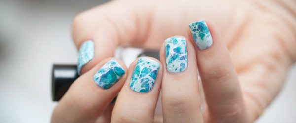 18 Swimming Pool Summer Nail Art Ideas that Will Cheer You Up