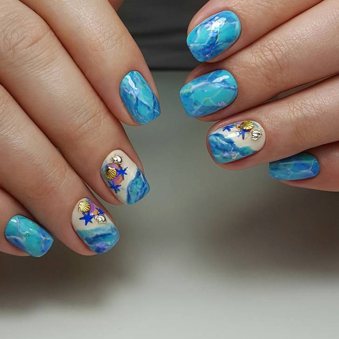 Fun Swimming Pool Nail Designs picture 5