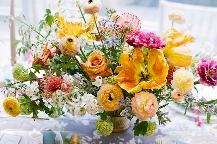 Romantic Ideas of Fall Wedding Centerpieces for Your Big Day