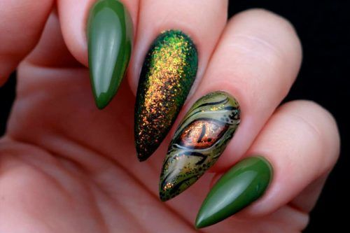 Fresh Green Nails Ideas To Get This Season