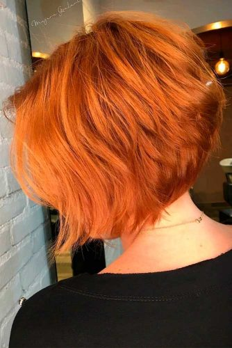 Volume Layered A-line Bob #bobhairstyles #layeredhaircuts