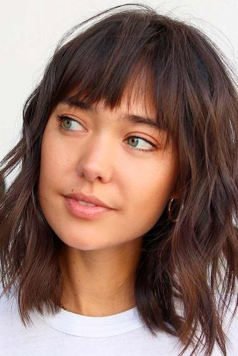 Piecy Layers and Wispy Bangs
