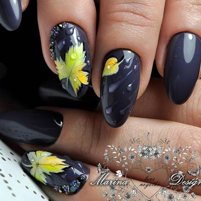 Beautiful Nail Designs to Rock this Autumn picture 1