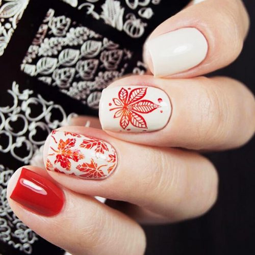 Pretty Autumn Nail Designs picture 5