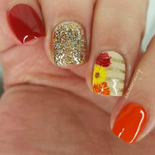 Beautiful Nail Designs to Rock this Autumn picture 6