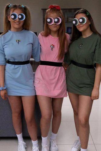 Powerpruff Girls Costumes #powerpruffgirls