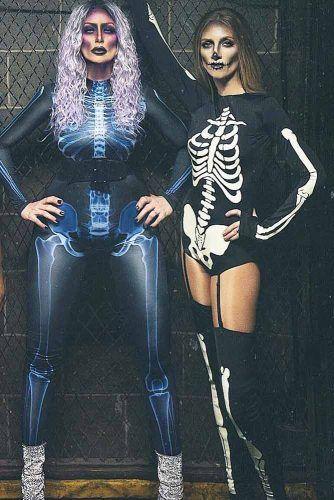 Skeleton Halloween Costumes #bones #skeleton
