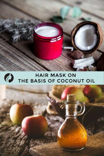 Hair Mask on the Basis of Coconut Oil