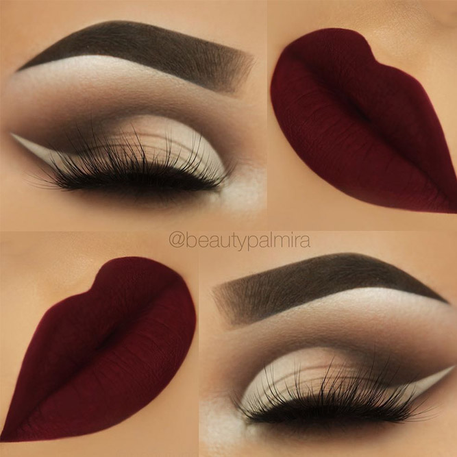 Fall Elegance Eyes Makeup Ideas picture 6