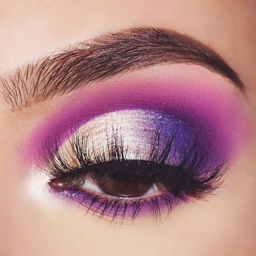 Hottest Makeup Looks with Purple Eyeshadow picture 6