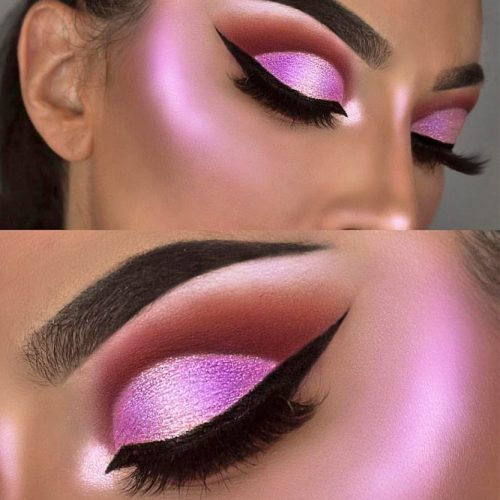 Hottest Makeup Looks with Purple Eyeshadow picture 1
