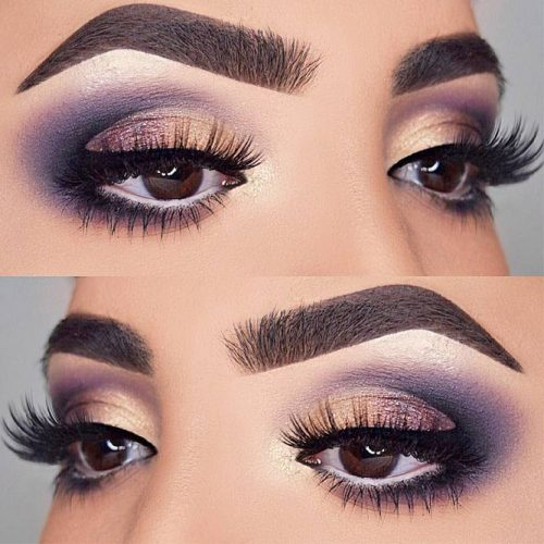 Hottest Makeup Looks with Purple Eyeshadow picture 3