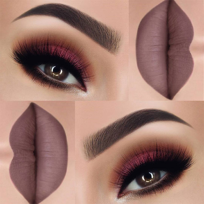 Fall Elegance Eyes Makeup Ideas picture 4