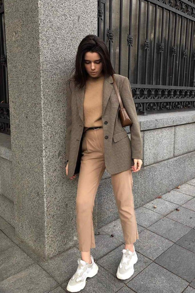 Fall Look With Blazer