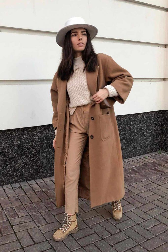 Total Beige Outfits