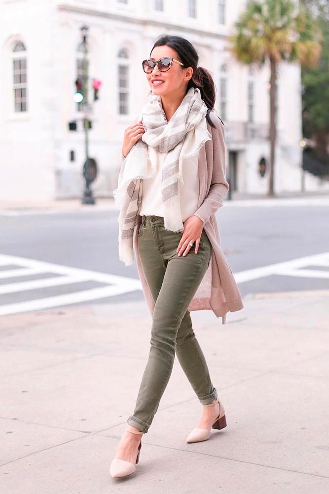 Fall Everyday Outfit With A Long Cardigan #casualoutfit #stylishfalllook