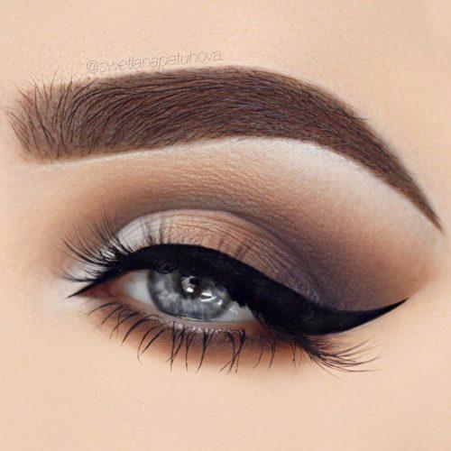 Natural Smokey Eye Makeup Ide