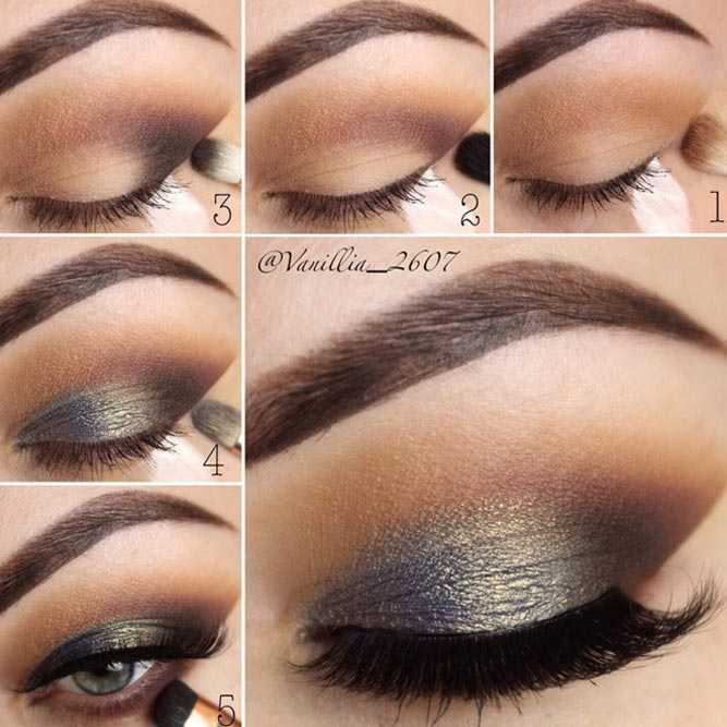 Easy Smokey Eyes Tutorial #smokeytutorial #stepbystepmakeup