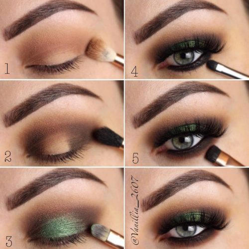 How To Apply Eyeshadow For Smokey Eyes Makeup #makeuptutorial #smokeyeyes