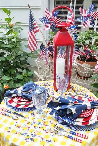Patriotic Centerpiece and Table Decoration Ideas picture 6