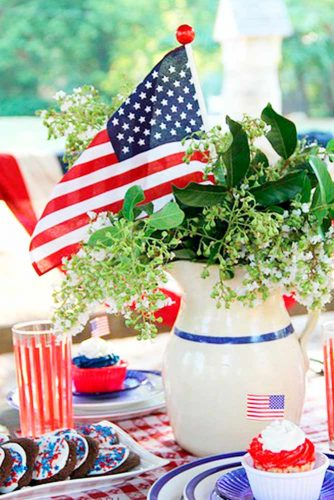 Patriotic Centerpiece and Table Decoration Ideas picture 3
